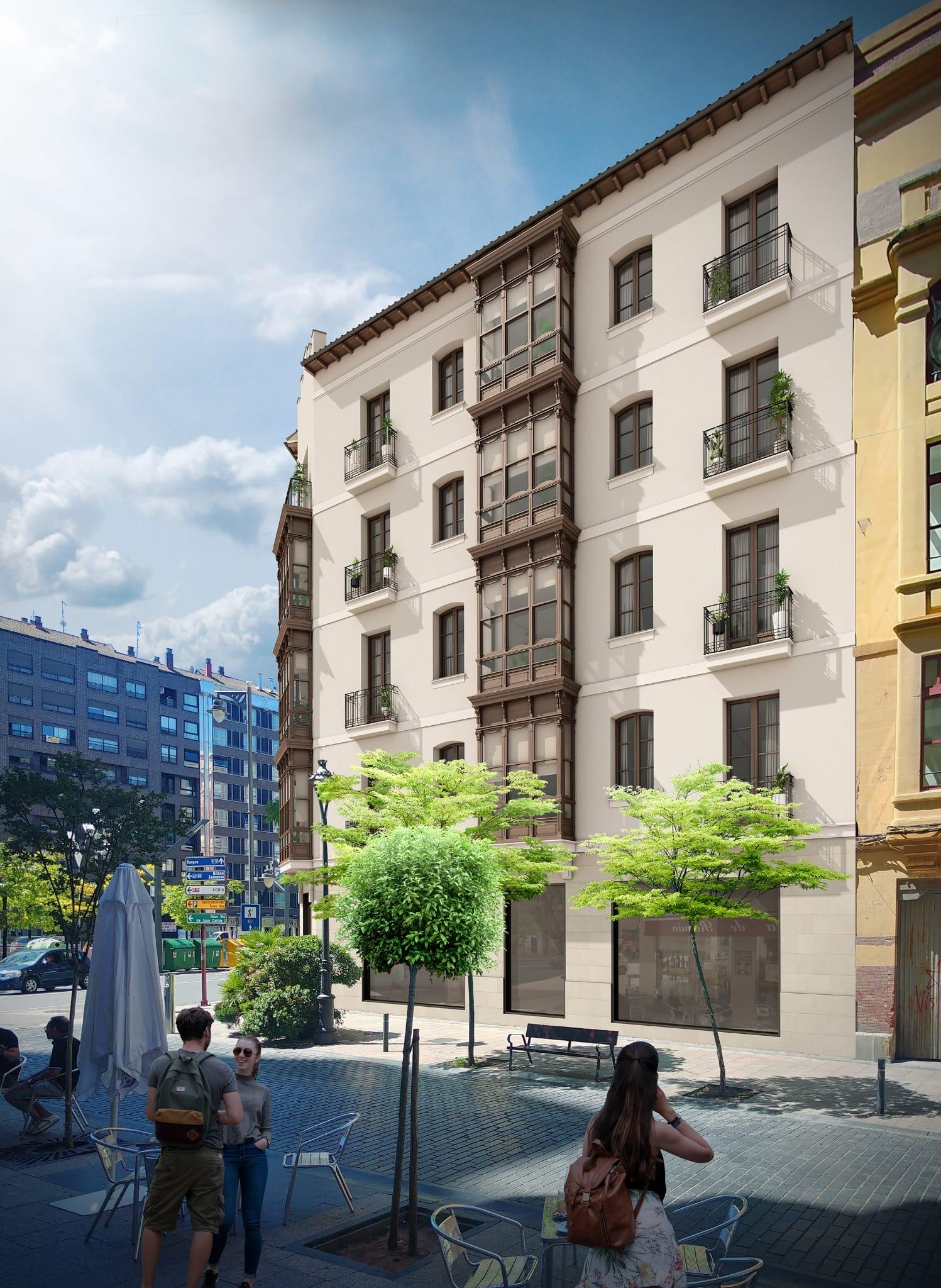 Edificio Murrieta 20 Logroño