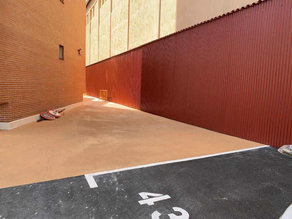 Obras cuartel Pamplona